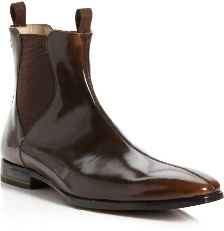 oliver sweeney foxhall chelsea boots in brown for men tan lyst. Black Bedroom Furniture Sets. Home Design Ideas