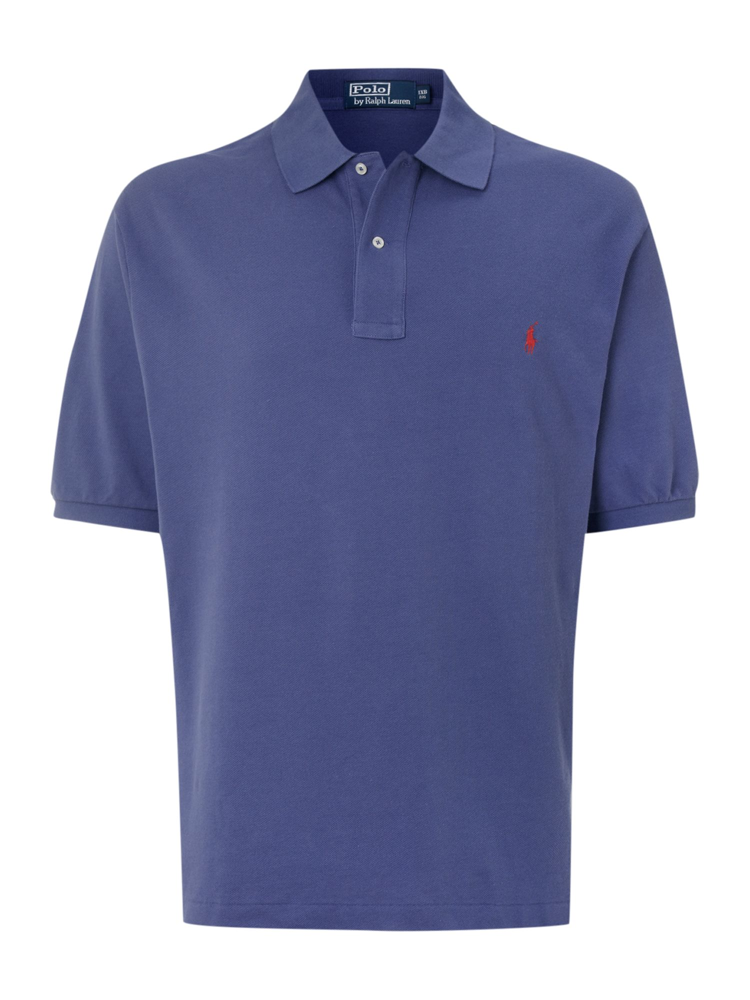 Polo Ralph Lauren Big And Tall Mesh Knit Polo Shirt In