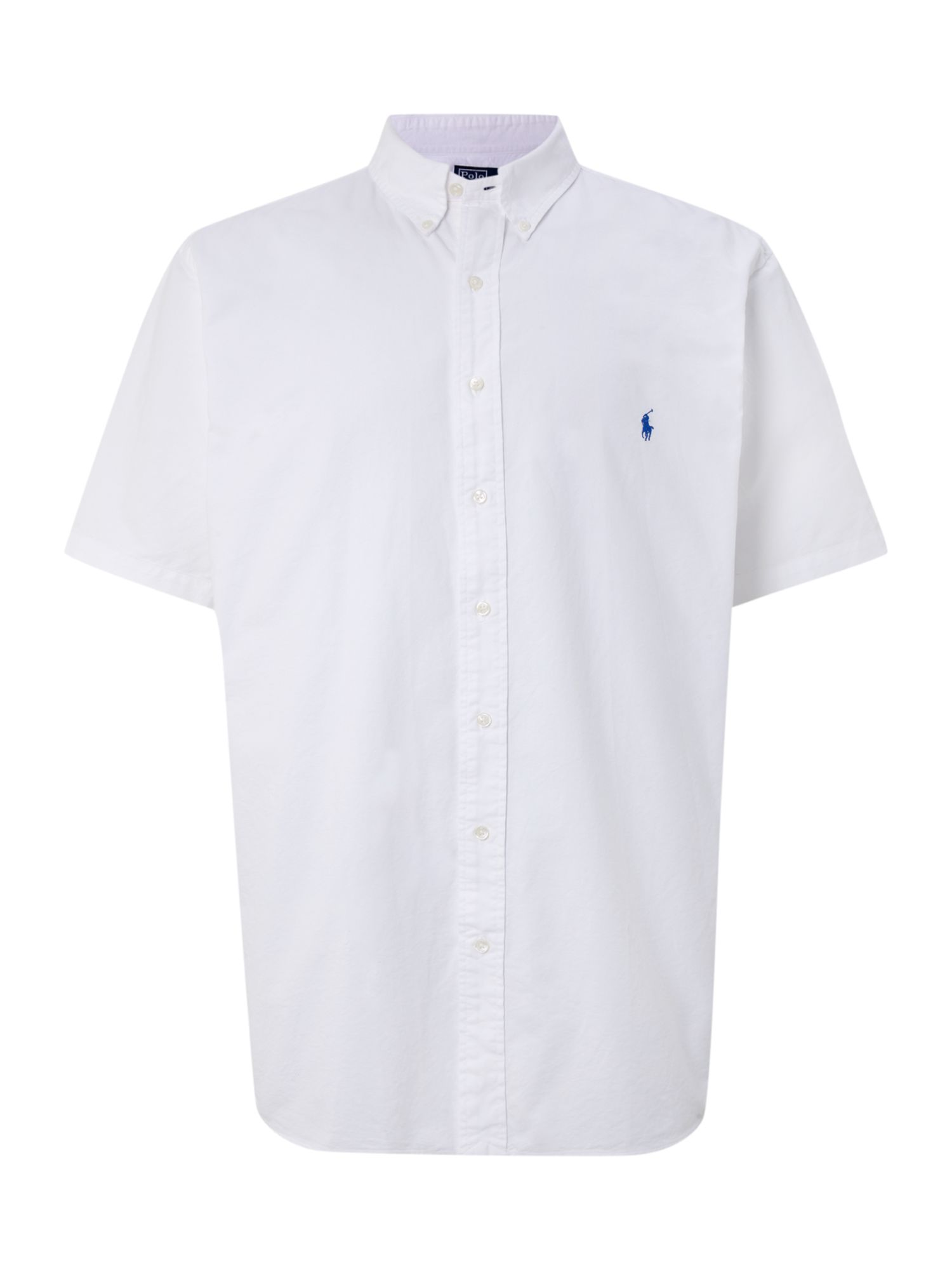 Polo ralph lauren big and tall classic short sleeved shirt for Big and tall polo shirts on sale