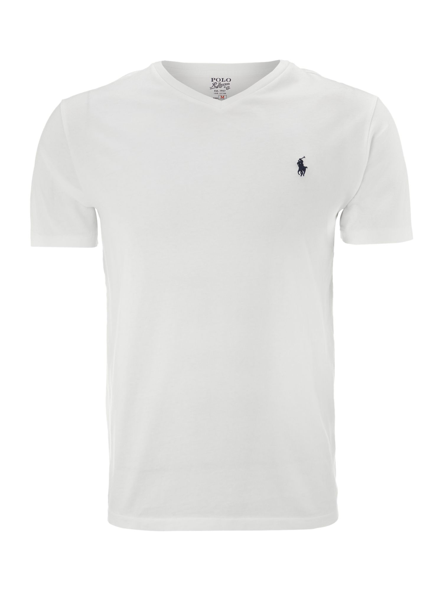 Lyst Polo Ralph Lauren Jersey Solid V Neck T Shirt In