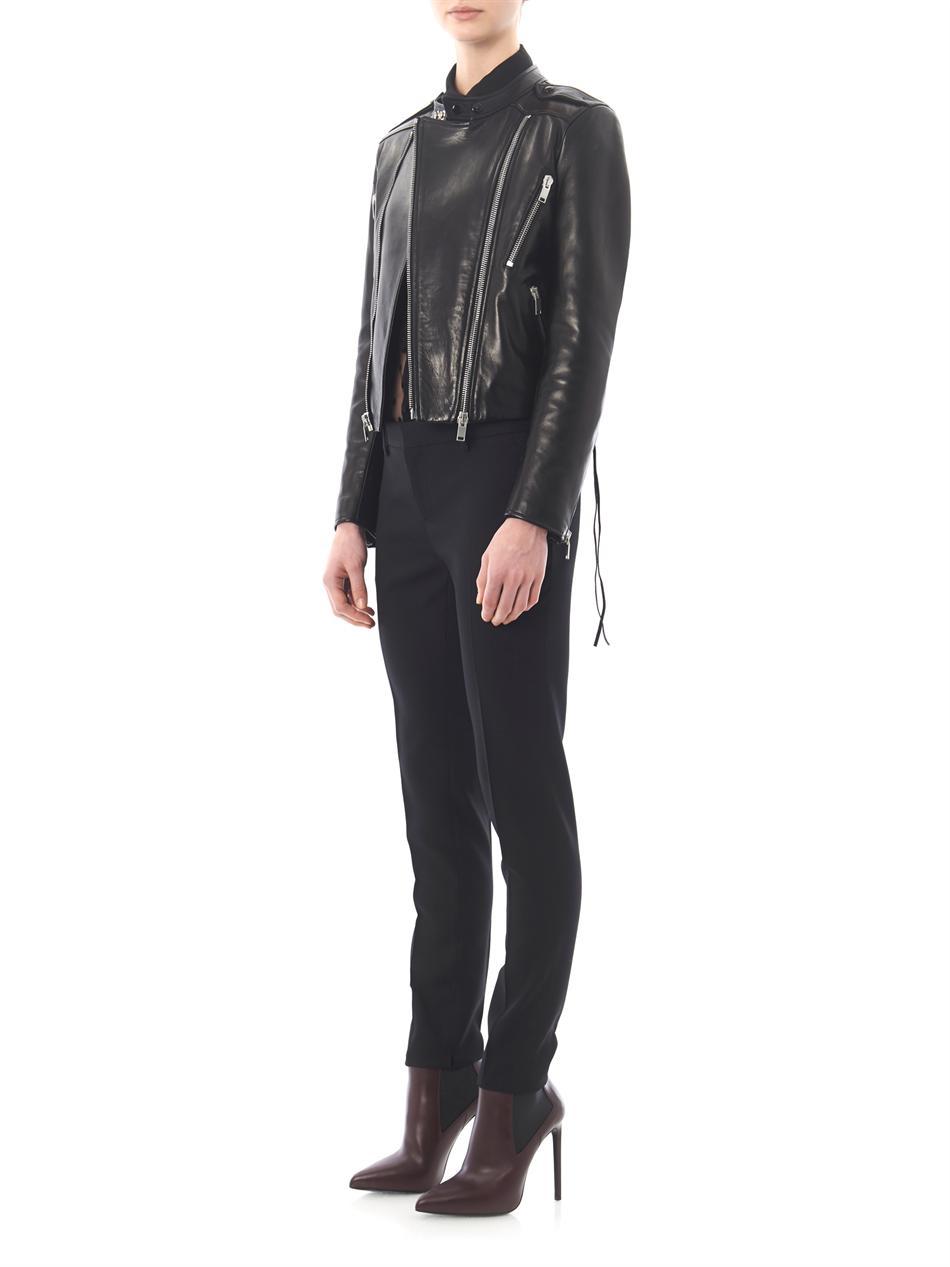 Versace high heel leather boots soaking wet - 3 7
