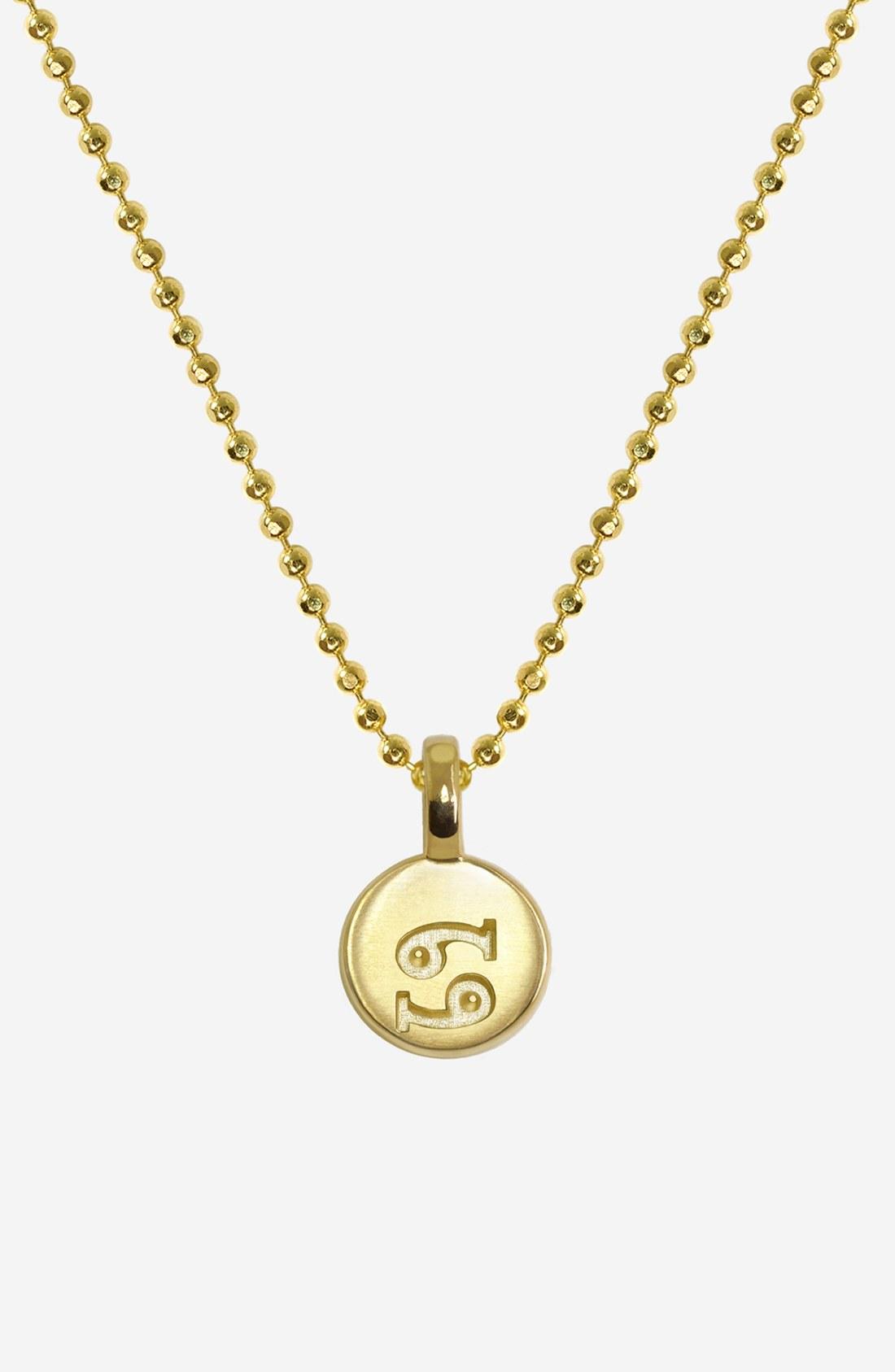 Alex Woo Mini Addition Signs Zodiac Pendant Necklace in ...