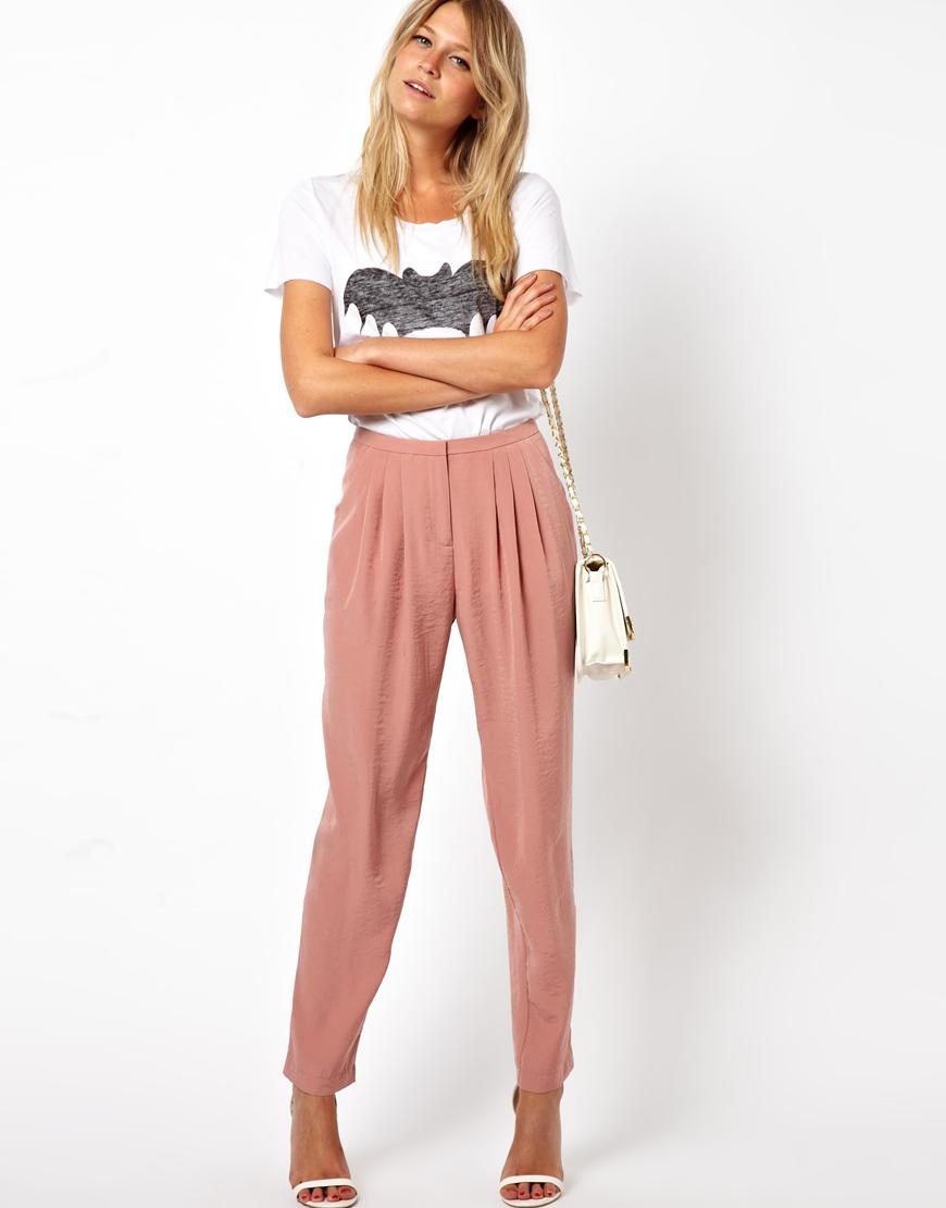Amazing Wide Leg Pants For Women 2016 Summer Vintage Fashion Loose Elastic