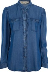 Burberry Brit Denim Shirt - Lyst
