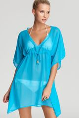 Echo Solid Silky Butterfly Cover Up - Lyst