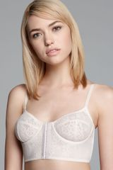 Free People Bra Lace Underwire Crop - Lyst