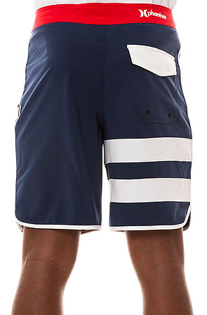 Hurley The Phantom Block Party Solid Boardshorts In Blue