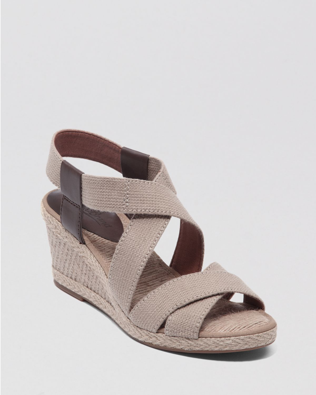lucky brand espadrille platform wedge sandals keane in