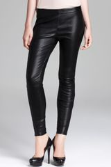 Marc By Marc Jacobs Leggings Lena Leather - Lyst