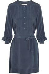 See By Chloé Silkgeorgette Tunic Dress - Lyst