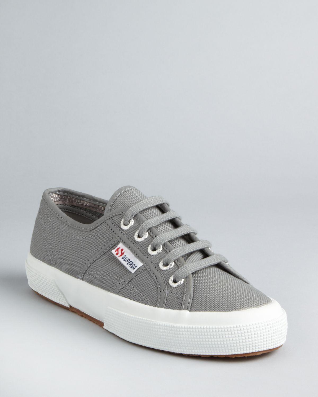 Superga: Superga Classic Canvas Sneakers In Gray (Grey Sage)