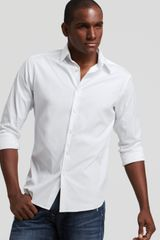 Theory Sylvain Wealth Sport Shirt Slim Fit - Lyst