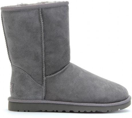 ugg short grey boots