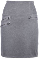 3.1 Phillip Lim Zip Detailed Skirt - Lyst
