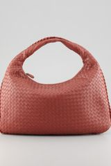 Bottega Veneta Veneta Large Hobo Bag Rust Brown - Lyst