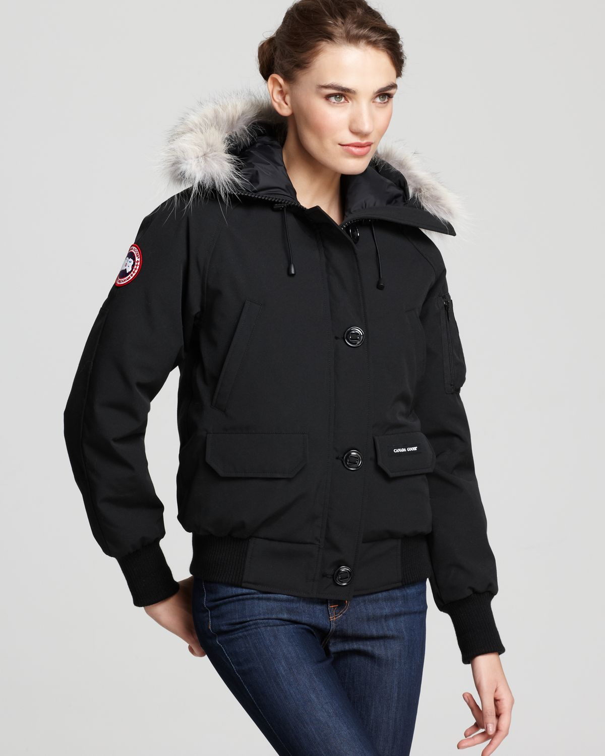 Canada Goose Rossclair Parka Fusion Fit In Black Lyst