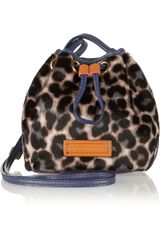 Marc By Marc Jacobs Too Hot To Handle Leopardprint Calf Hair Bag - Lyst