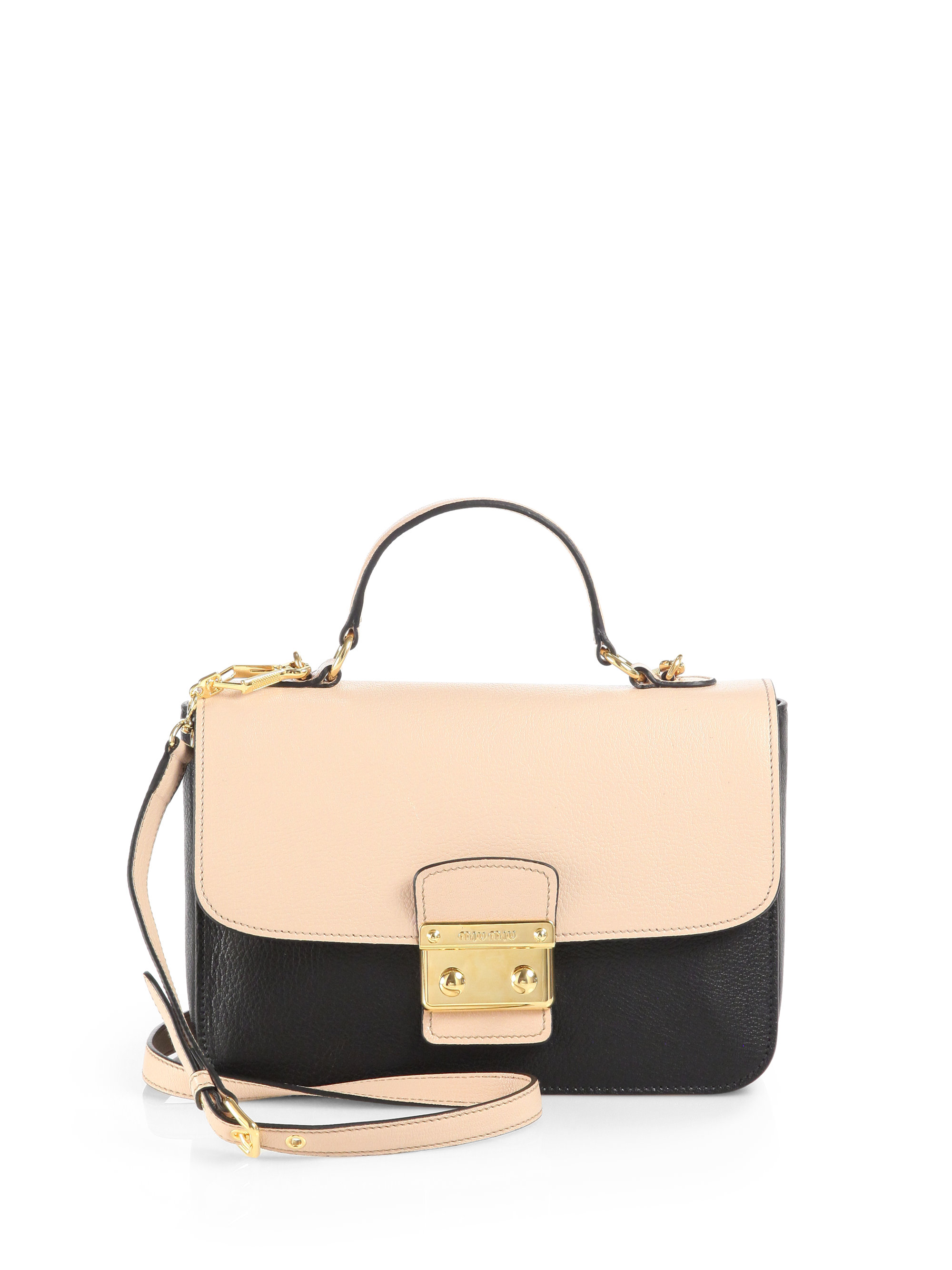 123b09da45ff Gallery. Previously sold at  Saks Fifth Avenue · Women s Miu Miu Shoulder  Bag ...