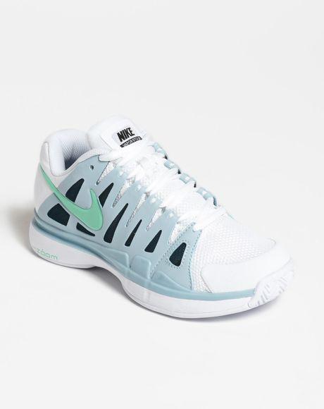 nike zoom vapor 9 tour tennis shoe in blue white light