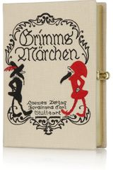 Olympia Le-Tan Grimms Märchen Embroidered Clutch - Lyst