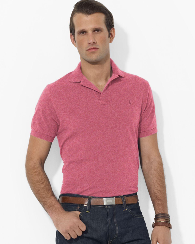 Lyst Ralph Lauren Polo Classicfit Shortsleeved Cotton