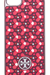 Tory Burch Geo Dot Hardshell Iphone 5 Case - Lyst