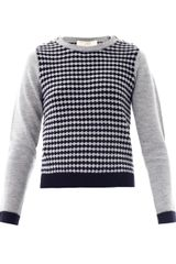Vanessa Bruno Athé Diamond Knit Sweaterc - Lyst
