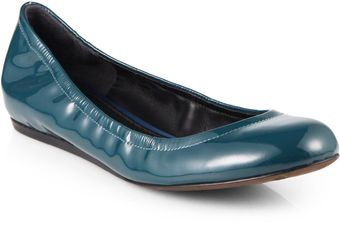 Vera Wang Lavender Lillian Patent Leather Ballet Flats - Lyst