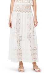 Oscar de la Renta Long Skirt - Lyst