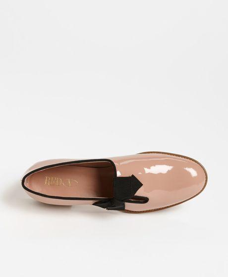 Prada Patent Leather Tuxedo Shoes