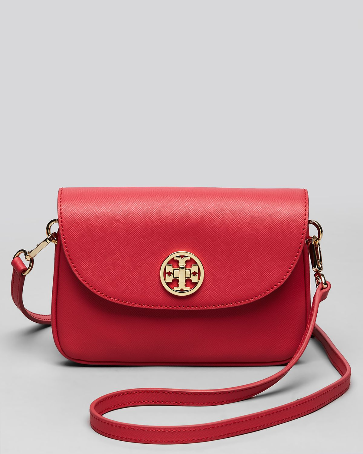 6e6db19eac4 Lyst - Tory Burch Crossbody Robinson in Red