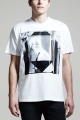 Givenchy Short Sleeve Printed Columbian Tee - Lyst