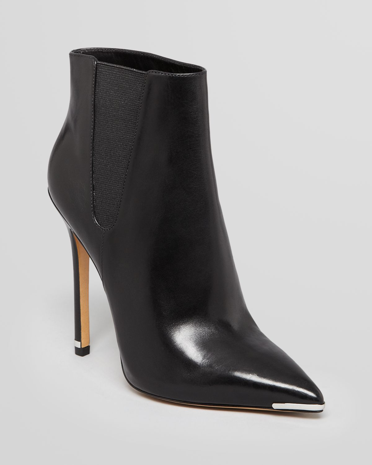e56655f917a7e Lyst - Michael Kors Pointed Toe Booties Andie High Heel in Black