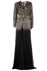 Giambattista Valli Animal Print Gown - Lyst