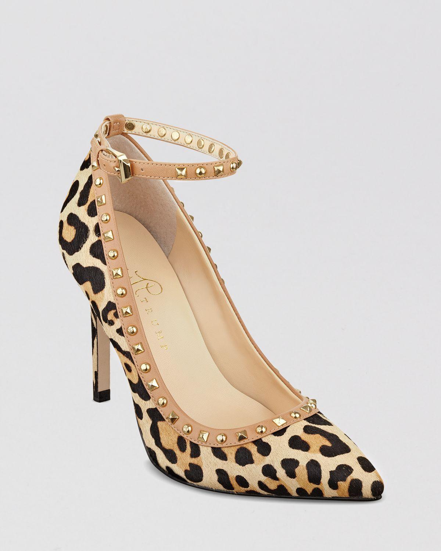 8d7845aae36 Lyst - Ivanka Trump Pointed Toe Pumps Galyns Leopard High Heel
