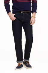 J.Crew Straightfit Jean in Resin Crinkle Wash - Lyst