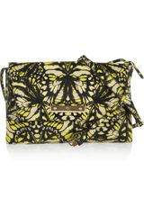 McQ by Alexander McQueen Printed Leather Shoulder Bag - Lyst
