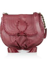 Nina Ricci Leather Shoulder Bag - Lyst