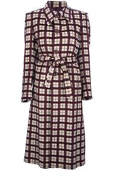 Sartoria Italiana Vintage Checked Coat - Lyst