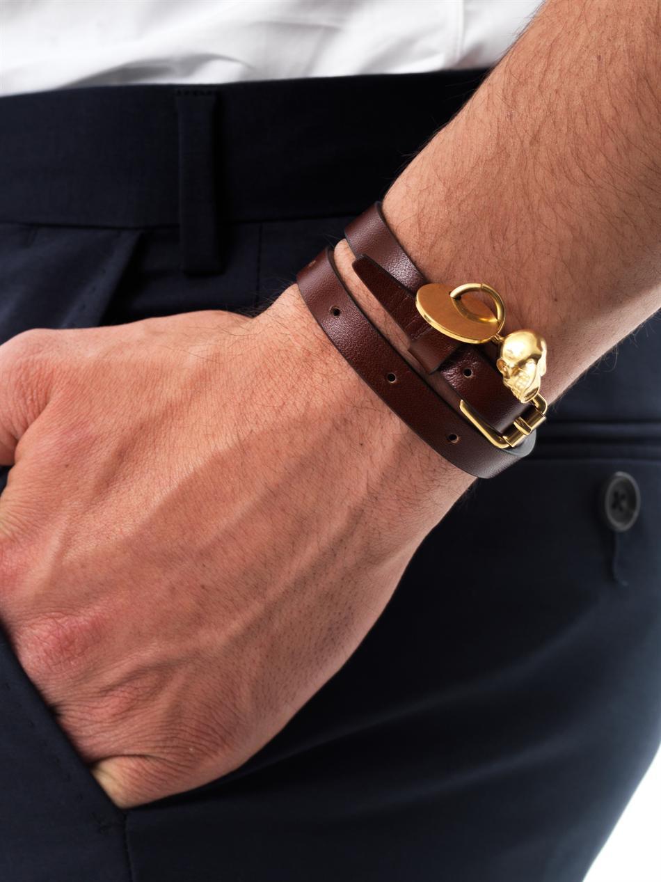 Alexander McQueen double wrap bracelet - Pink & Purple wQJO8K