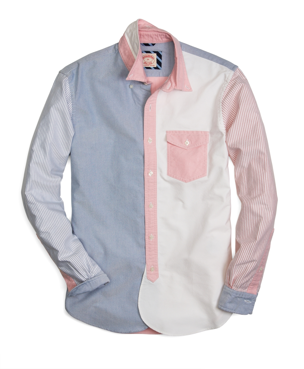 Lyst Brooks Brothers Oxford Fun Shirt For Men