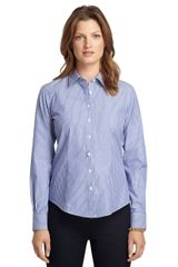 Brooks Brothers Fitted Noniron Stripe Dress Shirt - Lyst