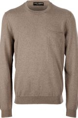 Dolce & Gabbana Pocket Sweater - Lyst