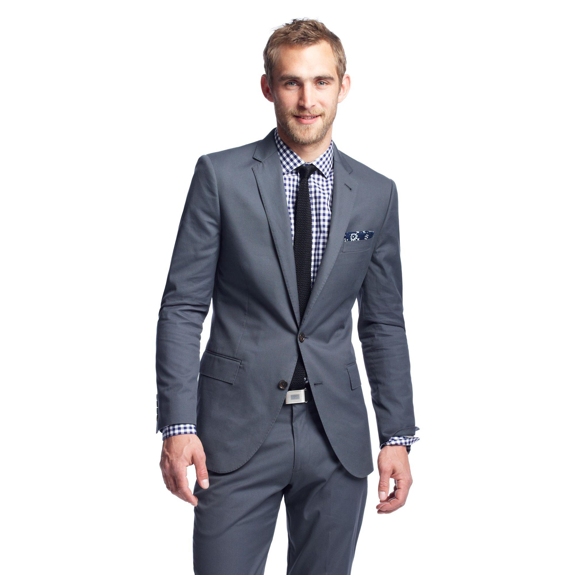 Women Gray Suit Brown Shoes