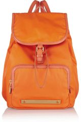 Marc By Marc Jacobs Work It Baby Got Backpack Leathertrimmed Backpack - Lyst