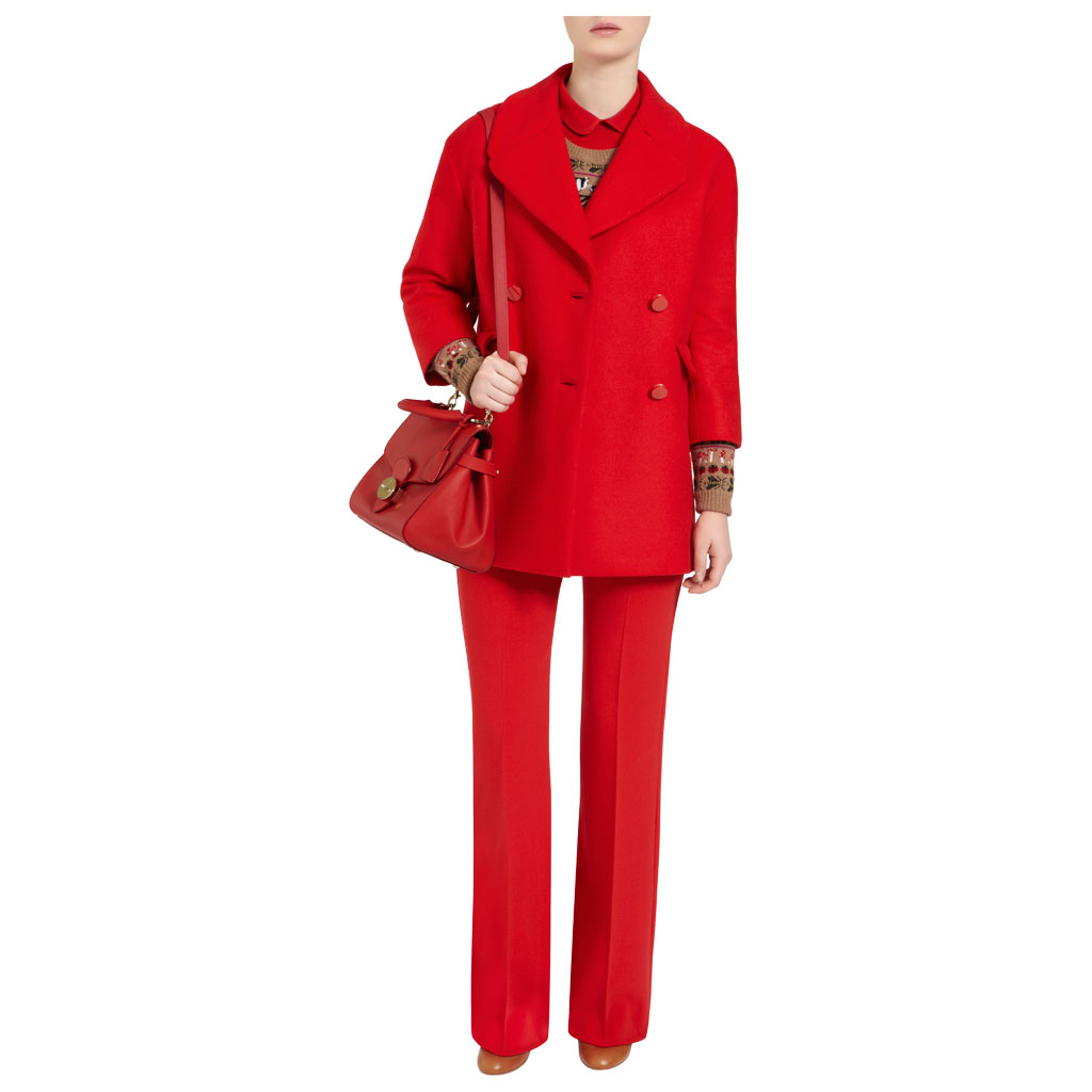 Lyst Mulberry Primrose In Red