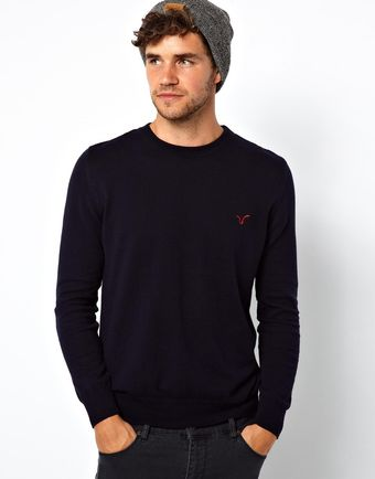 Asos Voi Sweater with Logo - Lyst