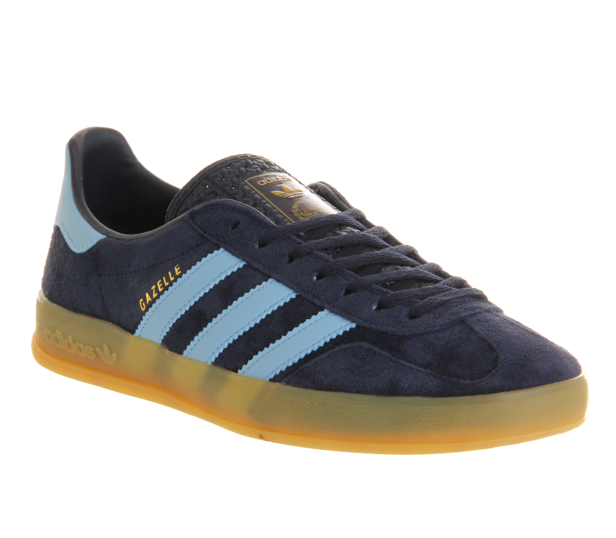 adidas gazelle indoor new navy argentina blue in blue for. Black Bedroom Furniture Sets. Home Design Ideas
