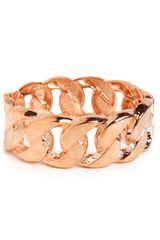 Baublebar Rose Link Bangle - Lyst