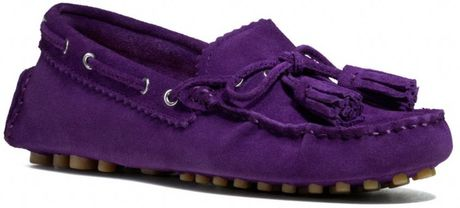 Coach Nadia Moc in Purple (ROYAL PURPLE) - Lyst